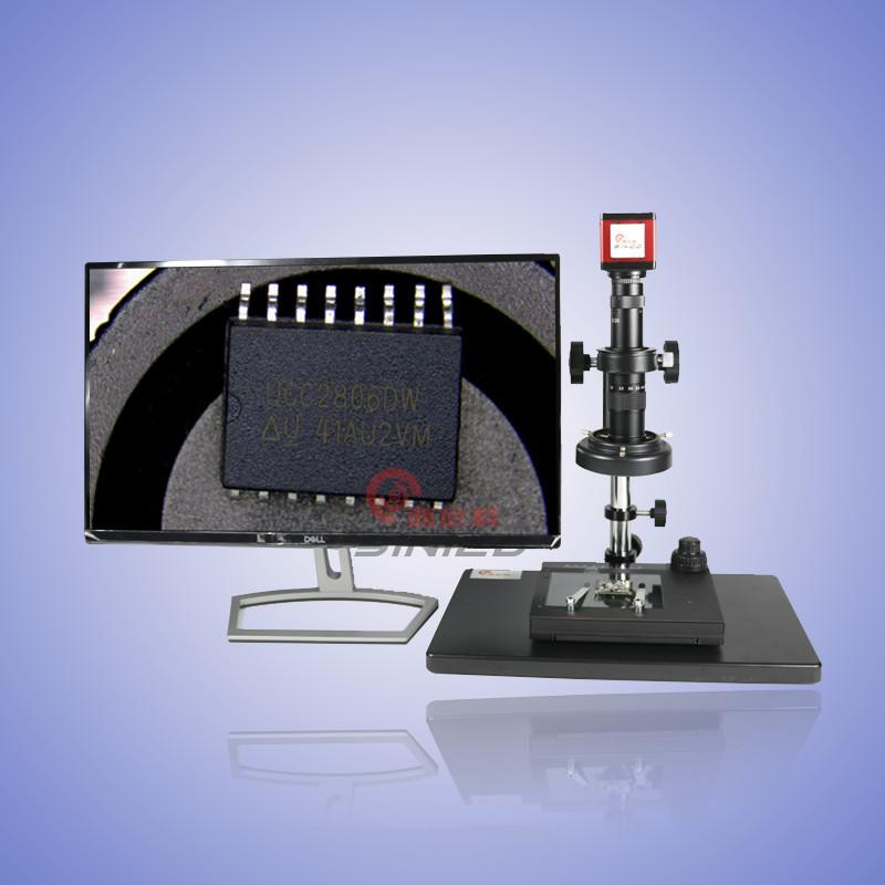 供应高清视频显微镜 HDMI接口 帧率高 清晰度好 HDMI高清显微镜