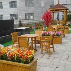 供西宁园林景观施工和青海园林休闲桌椅质量优