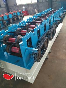 现货供应建筑脚手架子圆管变方管成型机设备