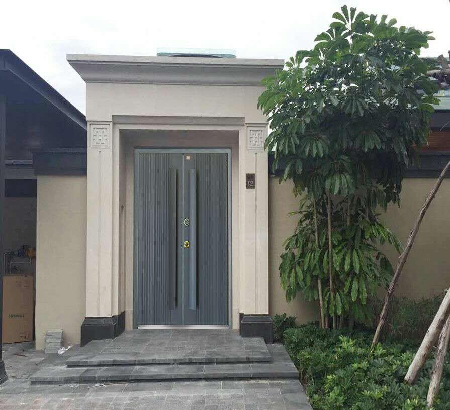 用户开始注重别墅门设计