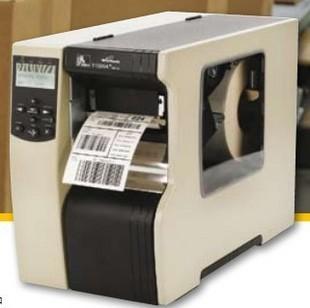 深圳条码Zebra 110xi4 300dpi 专业级条码打印机二维码不干胶标签机