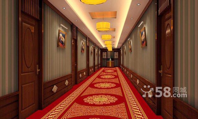 北京酒楼走廊楼梯地毯宾馆首选满铺地
