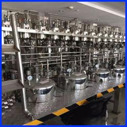 定制液体自动上料配料输送系统