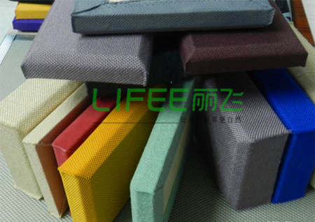 广州丽飞软包吸音板布艺吸音板