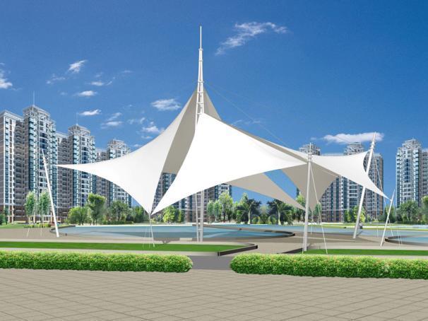 奥鼎膜结构厂家直销,价格优惠,公园膜结构建筑