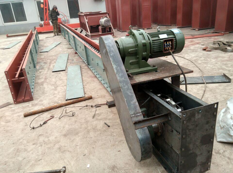 FU刮板输送机厂家加工定制链式输送机刮板机