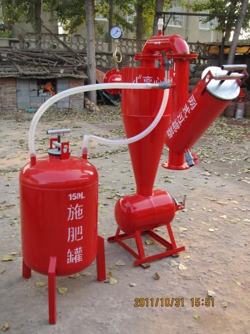 离心加网式一体化过滤器节水灌溉离心砂石钢制施肥罐滴