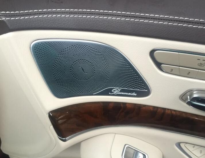 奔驰s400加改装柏林之声音响系统柏林音响