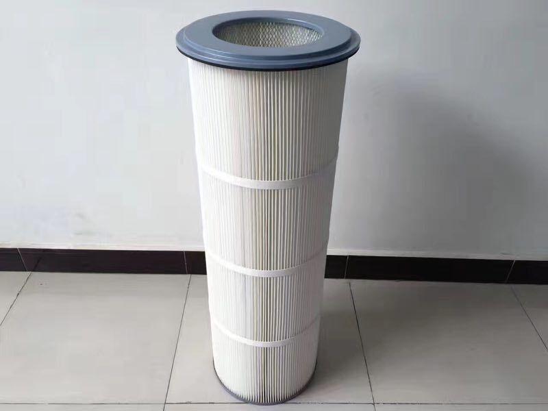 康泽供应k3290聚酯纤维覆膜除尘滤筒率