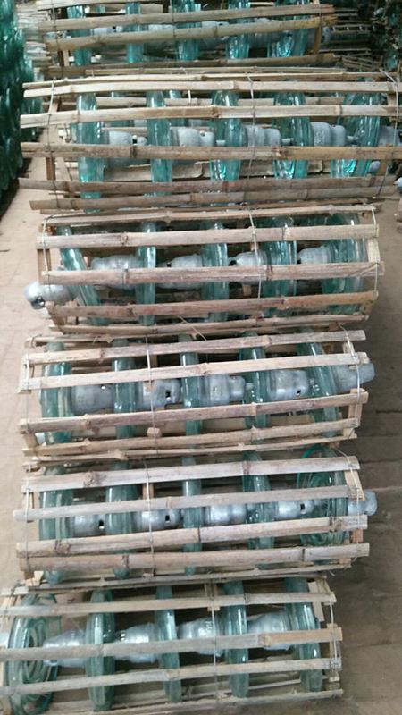 供应重庆玻璃绝缘子厂家  玻璃绝缘子批发价格