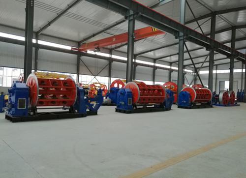 6GL400型框绞机/电缆设备生产线/河北能工电缆设