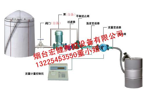 化工液体定量装桶设备 定量分装大桶设备