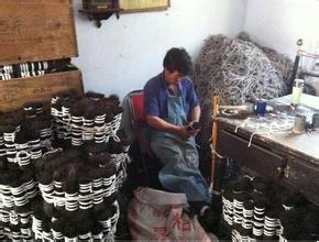 巨龙公司供应马毛刷原料黑色马尾,白色马尾