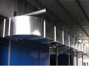 海淀排烟风机维修通风管道制作不锈钢排烟罩加工