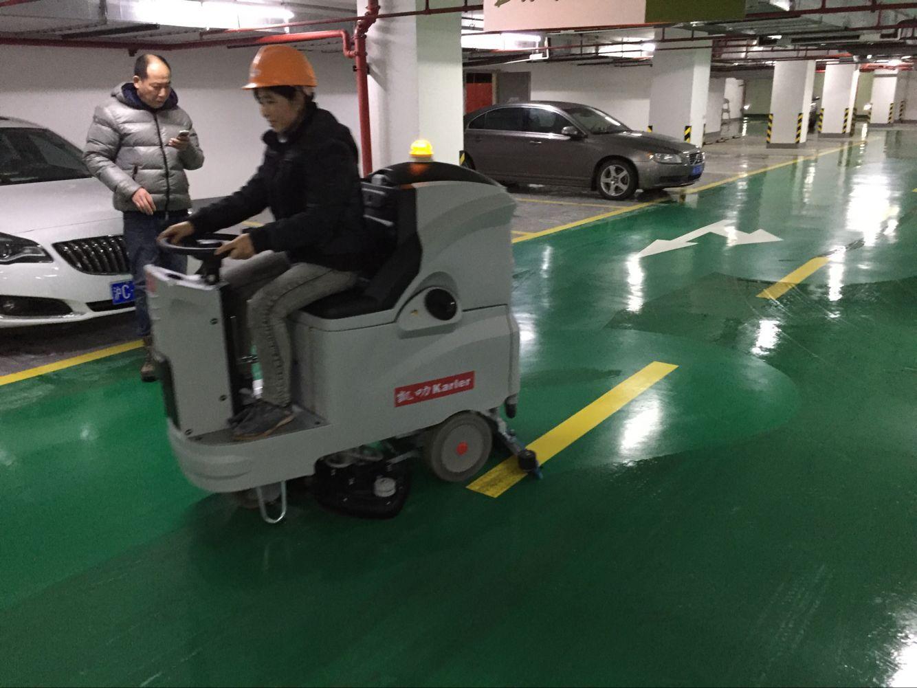 工厂车间驾驶式全自动洗地吸干机工业物业商场超市车库电
