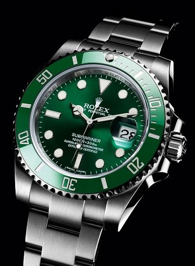 热门款-劳力士潜航者型系列116610LV绿盘腕表(