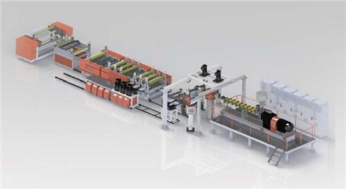 金韦尔供 单向拉伸薄膜挤出生产线 拉伸薄膜挤出生产线