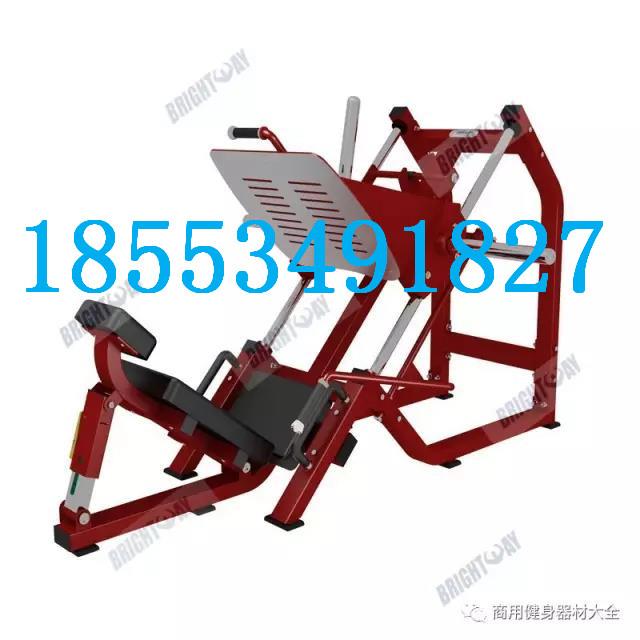 室内组合健身训练器材45度倒蹬训练器厂家