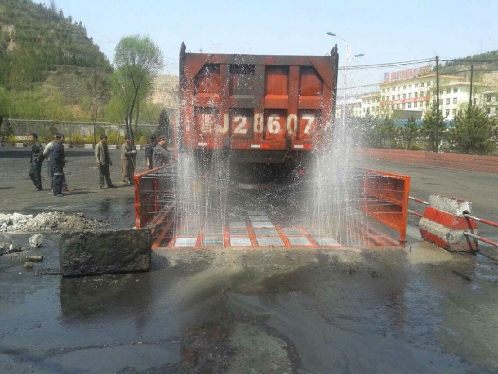 黃岡工地洗車池轉場方便