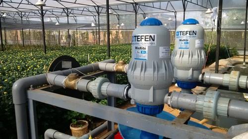 以色列泰豐Tefen2504水動力比例式施肥泵加藥泵