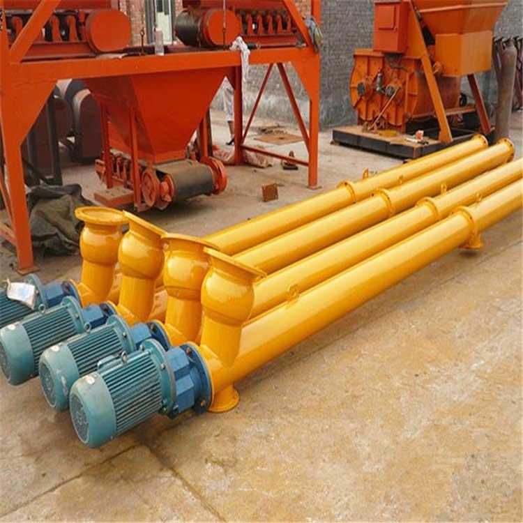 搅拌站专用LSY219型水泥螺旋输送机8米价格
