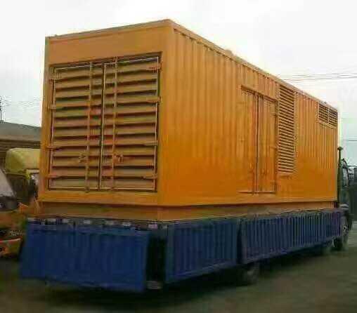 荆州应急大型静音发电机出租公司