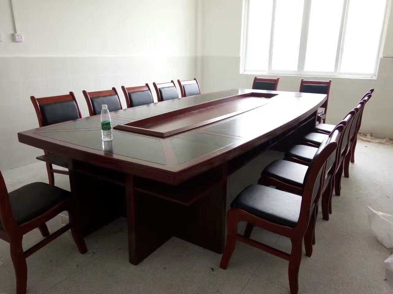 春旺办公家具厂家实木办公桌电脑桌隔断工位桌展柜书柜文件柜