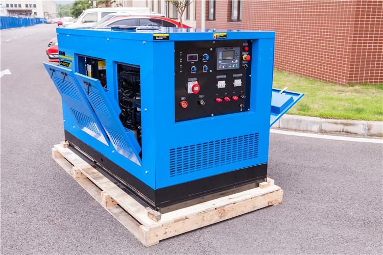 户外施工GT-500TSI柴油发电电焊机