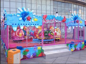 郑州航天游乐推出2019新款喷射类游乐设备