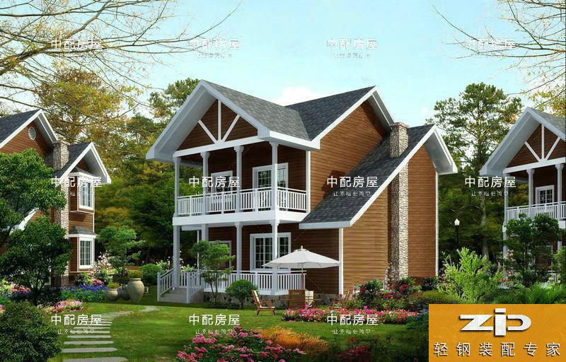 中配轻钢别墅满足个性化需求,让家装建筑不再单调