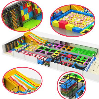 芭咘啦品牌淘气堡室内游乐场儿童乐园游乐设备加盟