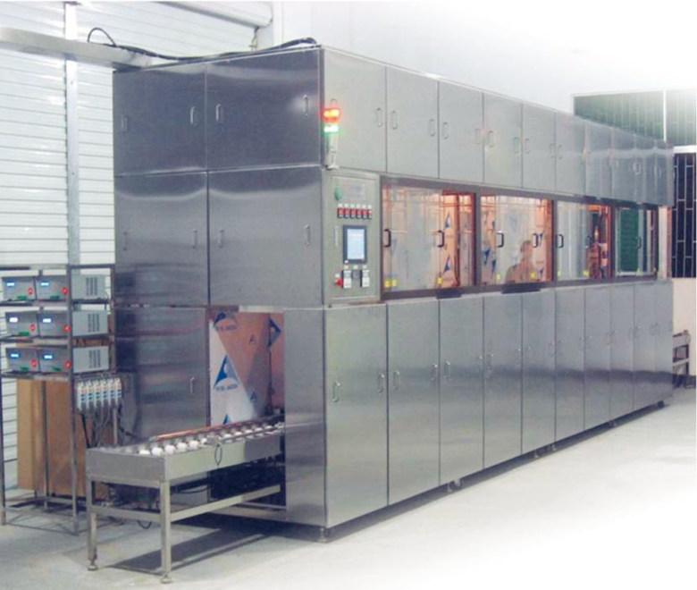 供應汽車配件PVD鍍膜前超聲波清洗機