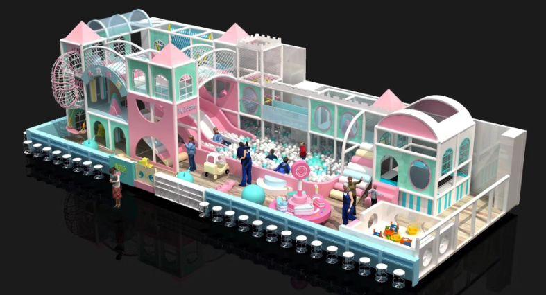 重庆淘气堡设备四川室内游乐园厂家云南儿童游乐设备公司