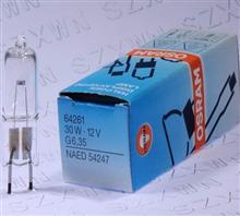 欧司朗64261 12V30W光学仪器灯泡G6.35