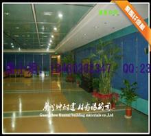 龙岩8mm聚酯纤维板 环保吸音板 高档艺术板 楼宇设施装