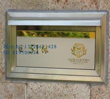 室内单体304不锈钢信报箱,定做一个信报箱要多少钱
