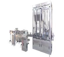 河南瑞霸机械全自动直列式日化灌装生产流水线