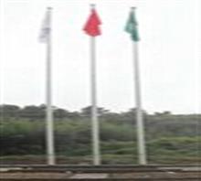 供应黄冈观山二号不锈钢遥控旗杆