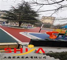 宁波幼儿园塑胶地坪材料批发