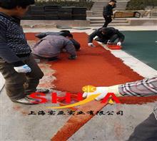 慈溪幼儿园塑胶地坪施工流程