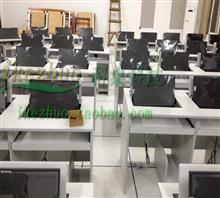 翻转电脑桌 机房会议翻转桌