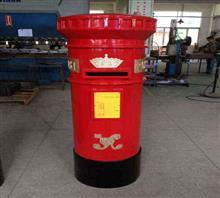 厂家直销红色英伦邮筒,可订制