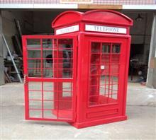 厂家直销英国伦敦电话亭,可订制