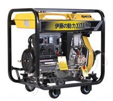 开架式风冷5000瓦柴油发电机