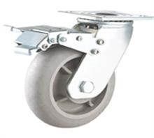 供应重型超级人造胶TPR静音脚轮