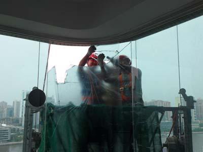 高空玻璃更换供应专业快速