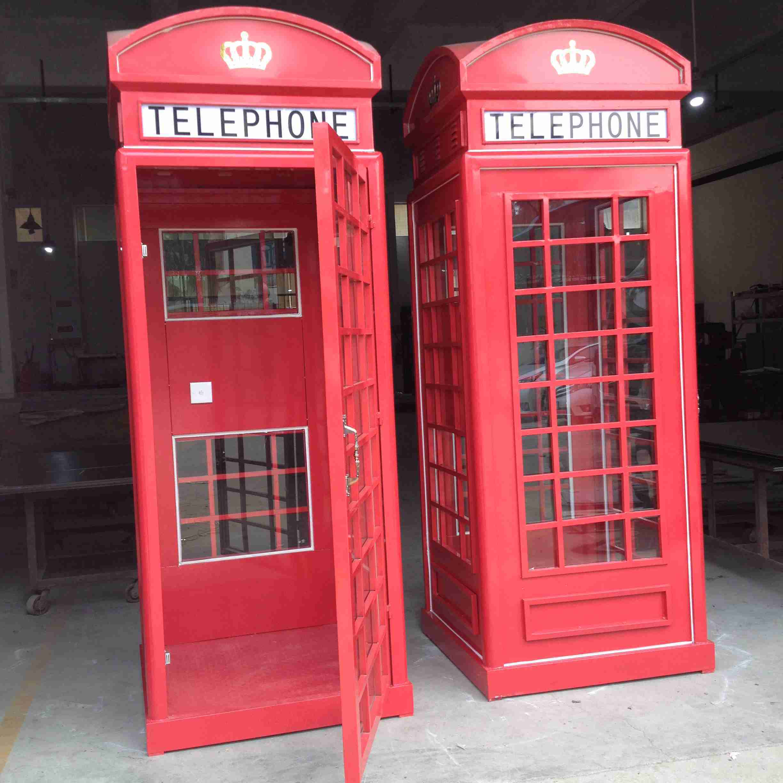 欧式电话亭,英国伦敦邮筒,钣金机箱机柜等产品配套设施的研发设计及