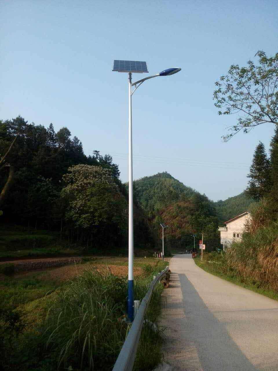四川太阳能路灯安装注意事项