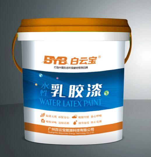 广州水性乳胶漆 内外墙面漆 防水耐刷洗 厂家直销