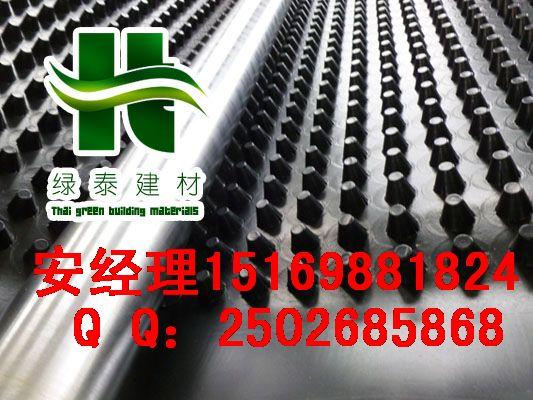 (车库顶板排水板)上海车库滤水板%厦门地下室疏水板